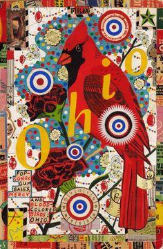 State Bird of Ohio - Tony Fitzpatrick