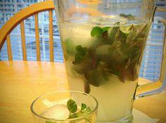 Mint Limeade recipe - so refreshing!