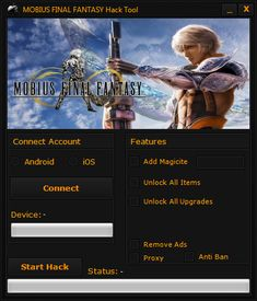Do you need additional Unlimited Magicite? Hack MOBIUS FINAL FANTASY directly from your browser. Fantasy Generator, Mobius Final Fantasy, Fantasy Play, Cheat Online, Play Hacks, Ios Apple, Game Resources, Game Update