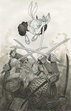 Usagi Yojimbo - art adams