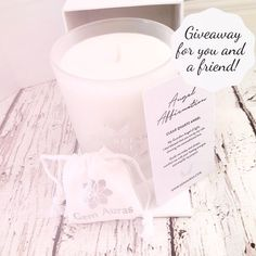 🦋E A R T H  A N G E L giveaway! 🦋  We have our latest creation to give away , one for you and a friend!  Our beautiful Guardian Angel Gemstone Candle! So beautiful!  To enter, simply 🦋 LIKE this post, 🦋 FOLLOW Gem Auras 🦋TAG a friend and 🦋tell us who you feel is an earth angel and deserves to share this prize with you   You only need to tag one friend to enter but every tag will qualify as a new entry! So you can enter as any times as you like!!    🦋GOOD LUCK EVERYONE… As You Like, Are You The One, Candle Jars, Candles, Self Motivation, Auras, Giveaway, Gemstone, How Are You Feeling
