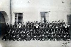 Uno de los grupos de niñas asiladas en la Casa de Misericordia