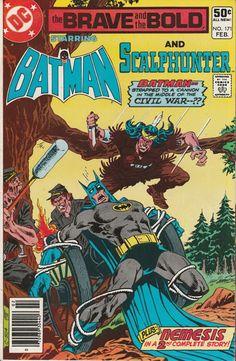 Brave & the Bold Vol. 27 No. 171  1981  Batman and Scalphunter by TheSamAntics