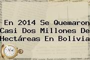 http://tecnoautos.com/wp-content/uploads/imagenes/tendencias/thumbs/en-2014-se-quemaron-casi-dos-millones-de-hectareas-en-bolivia.jpg Bolivia. En 2014 se quemaron casi dos millones de hectáreas en Bolivia, Enlaces, Imágenes, Videos y Tweets - http://tecnoautos.com/actualidad/bolivia-en-2014-se-quemaron-casi-dos-millones-de-hectareas-en-bolivia/