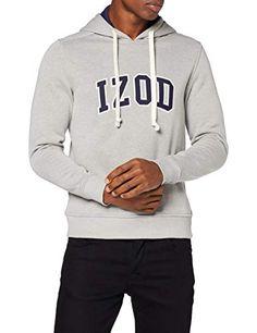 Izod Applique Fleece Hoodie Sudadera con Capucha para Hombre Izod Fleece Hoodie, Sweaters, Fashion, Photo Storage, Hooded Sweatshirts, Fashion Branding, Palms, Cowls, City