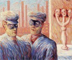 René Magritte - L'Intelligence