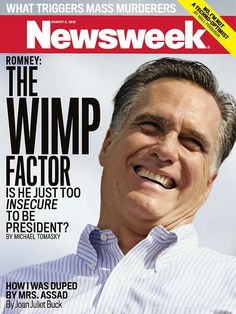 """Shame on you Tina Brown. This cover is exactly why Newsweek is about to go under. Everyone sees the liberal """"spin"""" for what it truly is, drivel."""