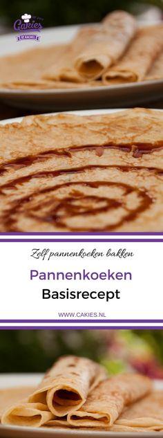 Pannenkoeken zijn super makkelijk om zelf te maken en veel lekkerder dan de kant en klare mixen uit de winkel. Iedereen kan zelf pannenkoeken bakken. #recept #recepten #pannekoeken