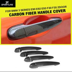 Cheap handle trim, Buy Quality led car door handle directly from China led door handle Suppliers: Carbon fiber Car Stickers Side Door Handle Covers Trim for BMW 3 Series With / Not LED F35, Bmw Parts, Bmw 3 Series, Side Door, Car Stickers, Carbon Fiber, Door Handles, Cars, Stickers