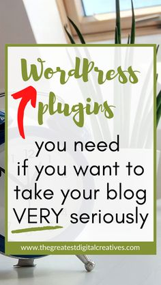 WordPress plugins you need if you want to take your blog very seriously. WordPress plugins for bloggers. Here are 15 amazing and free WordPress plugins you need to stand out. Protect your website, increase blog traffic, and make blogging life easy. #wordpress #blogging #bloggingtipsforbeginners