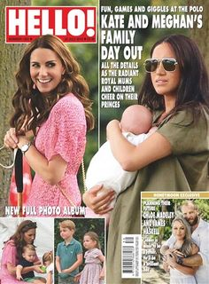 In the latest issue, we've got all the photos from Kate and Meghan's family day out watching their princes at the polo (their children are… Hello Uk, World Balance, Royal Family News, Hello Magazine, Kate And Meghan, Hair Specialist, Family Days Out, News Magazines, Fashion Magazines
