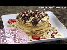 Fluffy Vegan Pancakes [HD] - YouTube