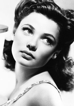 Dedicated to the Old Hollywood actress Gene Tierney. Lots of goodies (including photos, rarities, & screencaps) to come. Hollywood Icons, Old Hollywood Glamour, Golden Age Of Hollywood, Vintage Glamour, Vintage Hollywood, Hollywood Stars, Vintage Beauty, Classic Hollywood, Vintage Hair