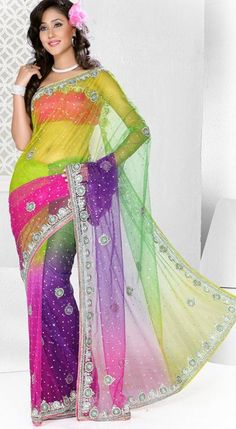 Multi colored diamond dresses