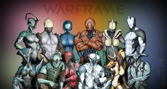 warframe - Family Photo !  Nyx - Ash - Mag - Rhino - Saryn - Excalibur - Banshee - Volt - Trinity - Frost - Ember and Loki CHEEESE !!