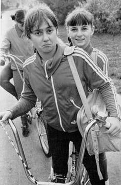 Nadia Comăneci and her great rival Teodora Ungureanu