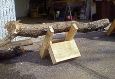 Homemade Sawbuck for Cutting Firewood - DIY - MOTHER EARTH NEWS