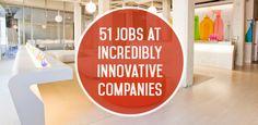 51 Jobs at Innovative Companies