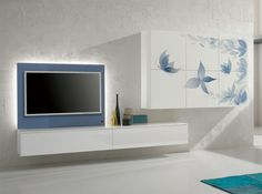 Modern Wall Unit Exential Y05 by Spar - $6,625.00