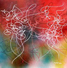 arabic art abstract calligraphy / Matox