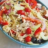 Quick and easy pasta salad from Our Best Bites