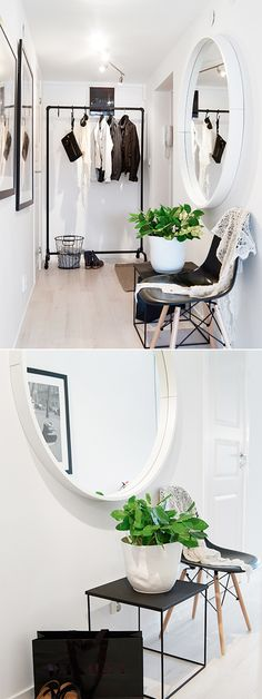 Klädhängare TEX Tofta Möbel hall Pinterest