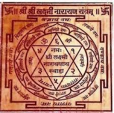 Shree Laxmi Narayan yantra
