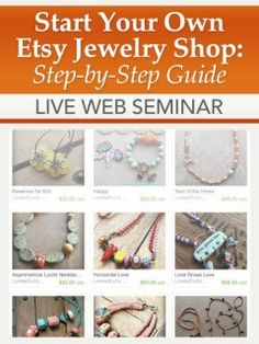 Start Your Own Etsy Jewelry Shop: Step-by-Step Guide | InterweaveStore.com