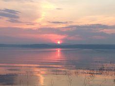 Smokey sunsets over Hilda Lake, Alberta. a.a 2015