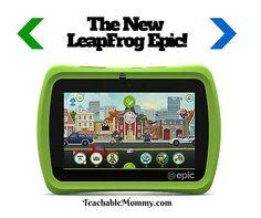 LeapFrog Epic, Kid friendly tablet, LeapFrog Epic review, Gift Guide 2015