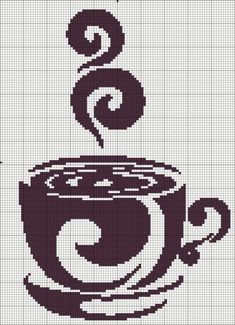 Схемы чай и кофе - Схемы вышивки крестом, вышивка крестиком