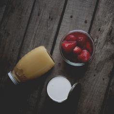 Strawberry Ice Cream (coconut milk)