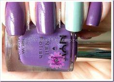 esmalte importado Complex Purple - NYX + Verde Água - Colorama #nailpolish #esmaltesempre