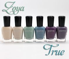 Zoya True Collection for Spring 2012 Swatches, Photos & Review (Vampy Varnish)