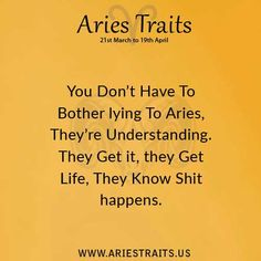 Aries Traits - Aries Personality - Aries Characteristics - Ideas for Aries Men & Women Aries Quotes, Zodiac Signs Aries, Libra, All About Aries, Aries Personality, Aries Baby, Aries Traits, Aries Woman, Bff