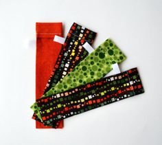 DPN Storage Pocket  Sock Needle Protector  7 inch by MonkeyMuffin, $8.00