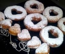 Oponki serowe Doughnut, Desserts, Food, Tailgate Desserts, Deserts, Essen, Postres, Meals, Dessert