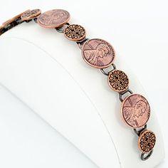 Lucky Penny Bracelet Tutorial