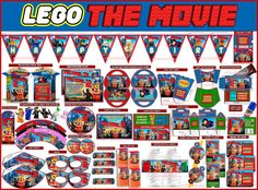 Party Package Lego the movie kit Printable by Partyprintablescraft