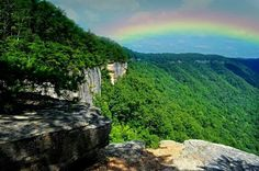 West Virginia by LJ Lambert Photography Where The Rainbow Ends, Over The Rainbow, Blue Ridge Mountains, Great Smoky Mountains, Virginia Homes, West Virginia, Places To Travel, Places To Visit, Peru Travel