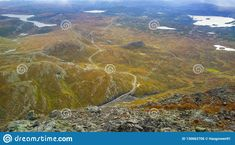 Photo about Overlandscape in Valdres Oppland county Norway. Image of overlandscape, over, view - 130662706 Norway, Europe, Stock Photos, Mountains, Landscape, Nature, Travel, Image, Viajes