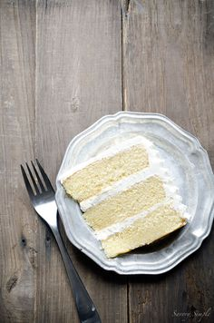 Brown Butter Layer Cake with Salted Bourbon Buttercream - Brown Butter Layer Cake with Salted Bourbon Buttercream is a rich, decadent dessert that will wow your friends and family. Get the recipe from Savory Simple Cupcake Recipes, Baking Recipes, Cupcake Cakes, Dessert Recipes, Cupcakes, Bourbon, Just Desserts, Delicious Desserts, Holiday Desserts