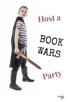 LOVE this idea especially for boys & reluctant readers -- Host a Book Wars Party!  --> THANK you @Melissa Squires Taylor for sharing. super ideas!