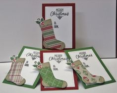 Christmas Gift Tags by maria116 - Cards and Paper Crafts at Splitcoaststampers by katie