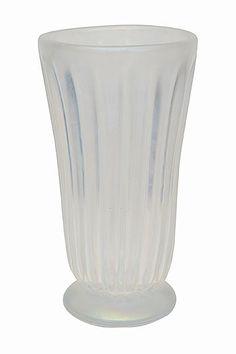 """Murano Art Glass Vase Signed Pino Signoretto Origin: Italy. Circa: 1990. Dimensions: Diameter: 8.75"""", Height: 16""""."""
