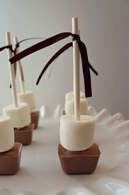 Hot choc sticks ... stir into a hot cup of milk for hot chocolate ...