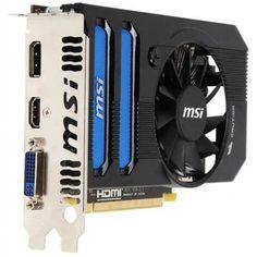 MSI RR7770-PMD1GD5 Radeon HD7770 1GB DDR5 128bit PCIE3.0 Video Card DVI/DisplayPort/HDMI by MSI COMPUTER. $136.94