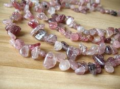Strand 14 inches. Natural Rock Crystal Quartz Plain Rondelle Button Beads 5-6mm
