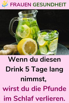 Wenn du diesen Drink 5 Tage lang nimmst, wirst du die Pfunde im Schlaf verlieren. If you take this drink for 5 days, you will lose the pounds in your sleep. Healthy Diet Tips, Diet And Nutrition, Healthy Foods To Eat, Easy Healthy Recipes, Healthy Drinks, Healthy Life, Ketogenic Diet For Beginners, Keto Diet For Beginners, Diet Plans To Lose Weight