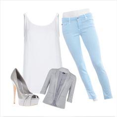 Light blue pant